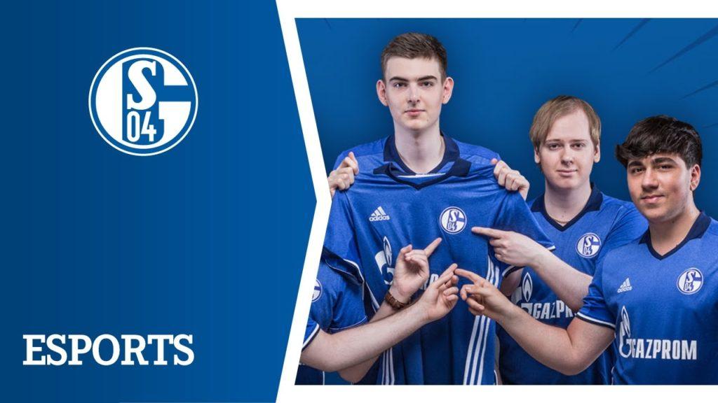 Esports New Partnership For The Schalke Team 04 Esports Activity