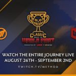 WORLD SHOWDOWN OF ESPORTS AND METHOD PARTNER FOR CLASSIC RACE TO WORLD FIRST